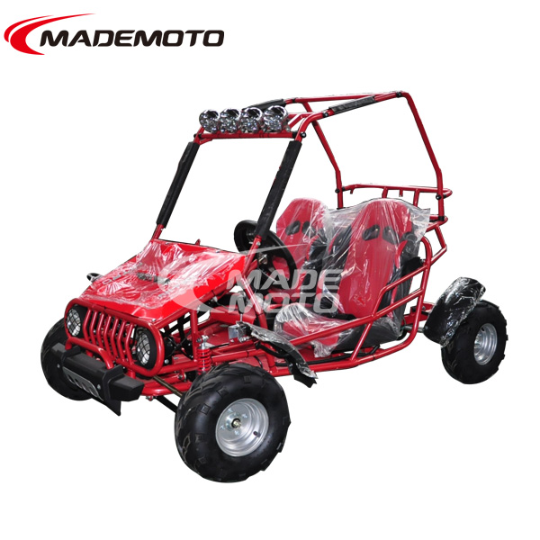 125CC Double Seat Racing 4 Stroke Go-Kart for kids with air cooling 110CC Engine