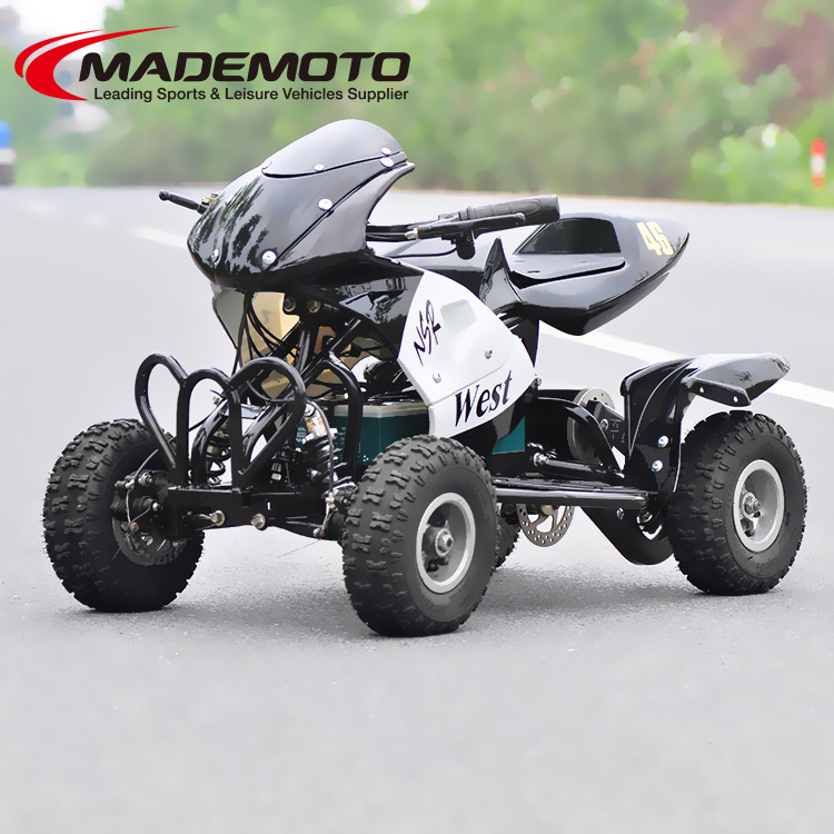 800W 4 wheel pocket bike Electric ATV Quad bike for Kids