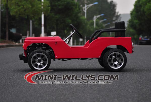 Oppsiktsvekkende New 110cc Mini Jeep Willys KK-12