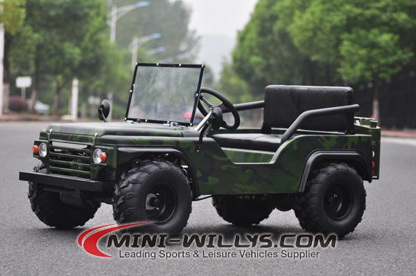 New 125cc Mini Jeep Willys